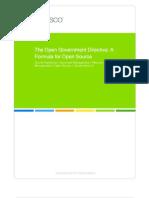Alfresco White Paper Open Government Directive