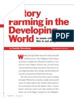 Factory Farming in the Developing World