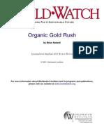 Organic Gold Rush