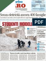 Studenti Modello - Il Resto del Carlino del 6 febbraio 2012