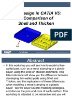 Shell vs Thicken