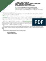 8 O 261- 2007- norme dezinfectie