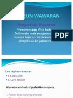 NEPIKEUN WAWARAN