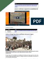 Marcha del Agua - Noticias 01
