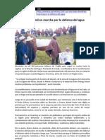 Marcha Del Agua - Noticias 02