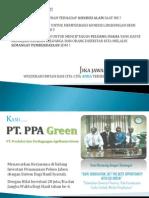Proposal Investasi Jabon PT. PPA Green