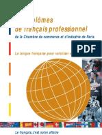 Les Diplomes de Francais Professionnel