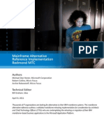Microsoft Mainframe Alternative Reference Implementation Technical Whitepaper