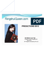 NUSS - Predictions of 2012 by Master Lynn Yap