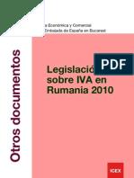 ion IVA en Rumania