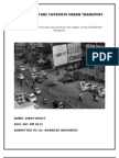 Traffic Problem Due to Multiple Divider Gaps