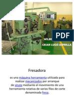 EXPOSICION DE FRESADORA