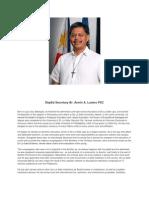 DepEd Secretary Br ARmin Luistro