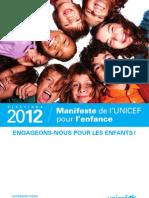 UNICEF_MANIFESTE_UNICEF_2012
