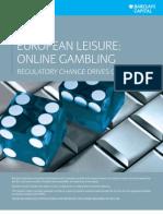 Barlcays Capital - Online Gambling Oct 09