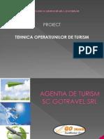 Proiect Tehnica Operatiunilor de Turism