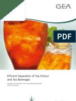 Tea Extract Tea Beverages 9997 1325 020