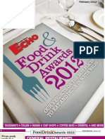 South Wales Echo Food & Drink Awards 2012