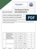 01. Risk Management Manual
