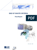 End of Waste Criteria (Final)