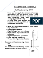 Wideband Gap Materials