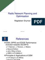 3gpp GSM Principles - Basics