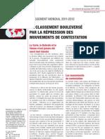Classement mondial de la liberté de la presse 2011-2012