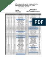 Fixture Nacional SCZ