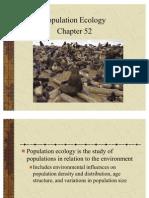 Population Ecology 2