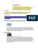 What is Waste Disposal2