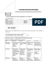 Field Study 5 Learning Assessment Strategies