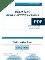 SEBI Delisting Regulations