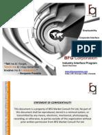 BFG Corporation Industry Interface Program (IIP)