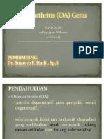 Osteoarthritis (OA) Genu