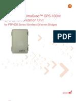 GPS Syncro 4 Series PTP600