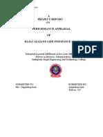 Project Report HR Bajaj Kirti