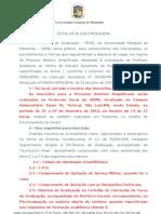 EDITAL Nº 26  -PEDREIRAS-2012