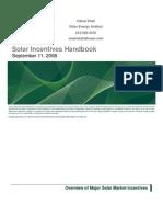 Lehman Solar Incentives Handbook