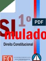 Primeiro Simulado de Direito Constitucional