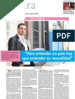 Entrevista a Federico Andahazi.