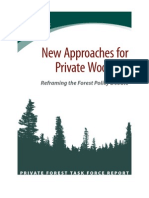 New Approaches for Private Woodlots