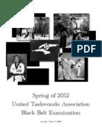 UTA Black Belt Test