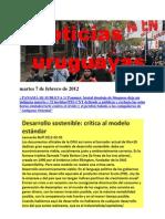 Noticias Uruguayas sábado 4 de Febrero de 2012