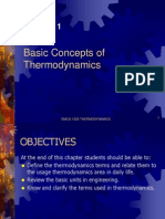 Chapter 1 - Basic Concepts of Thermodynamics