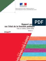Rapport annuel sur l'état de la fonction publique - Faits et chiffres 2008 - 2009