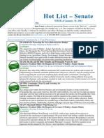 MDLCV Hot List - Senate - 1-31-12