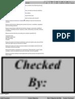 Pre Audit Checklist