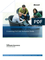 SA E-Learning Activation Guide