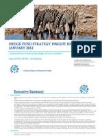 Mathema January 2012 HF Strategy Insight Report