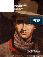 The Personal Property of John Wayne Signature Auction - Heritage Auctions #7045